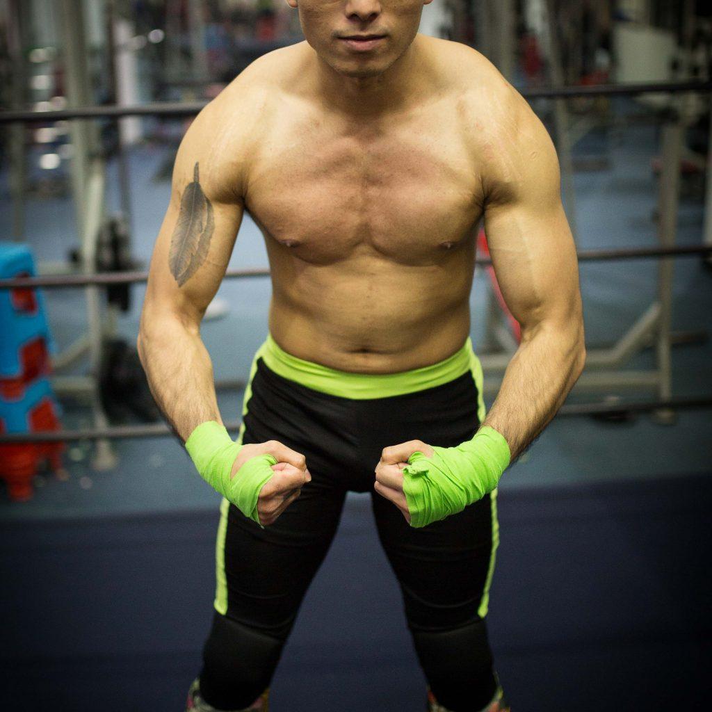 American/Hong Kong Pro Wrestler ASH SILVA