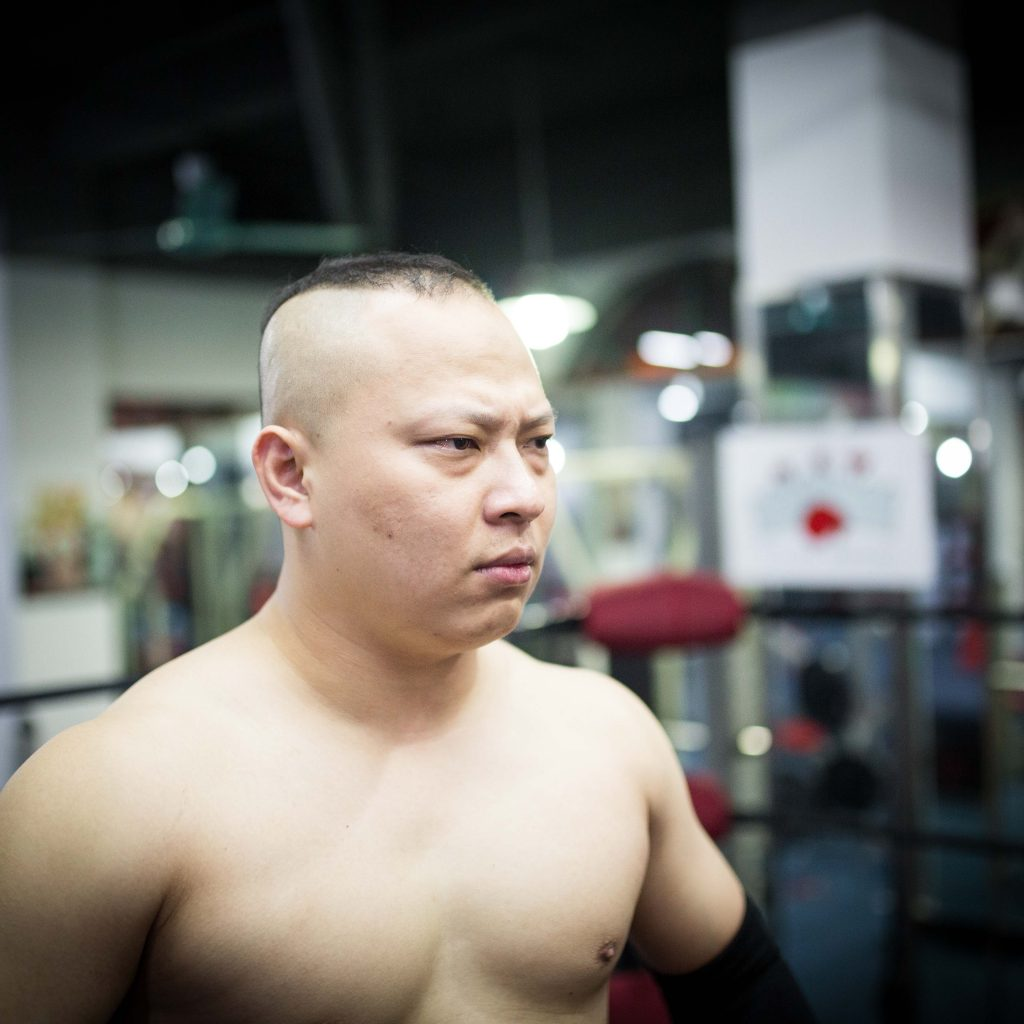 Chinese Pro Wrestler THE SLAM