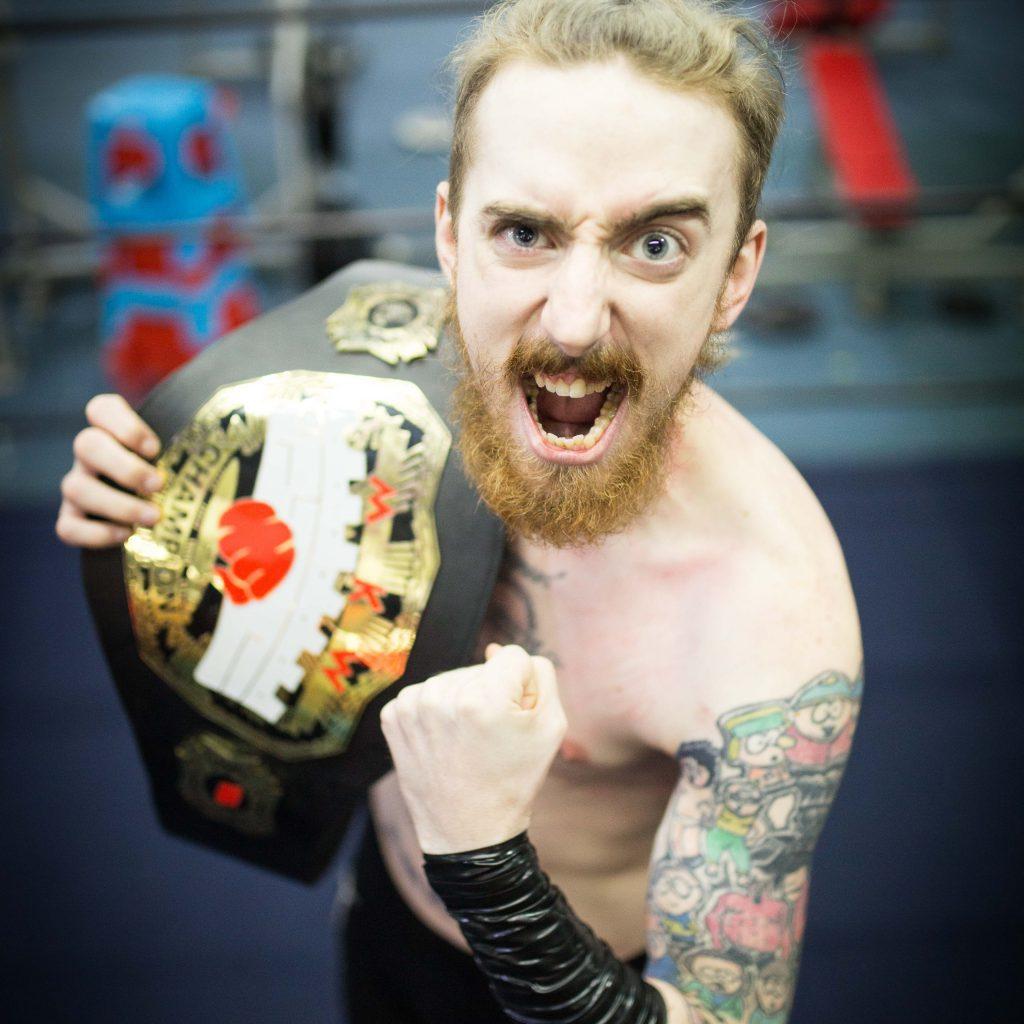 American Pro Wrestler DALTON BRAGG