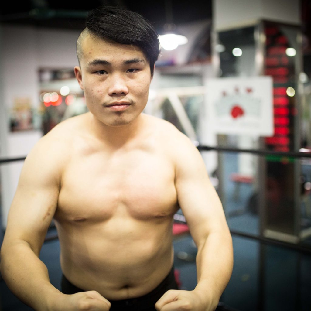 Chinese Pro Wrestler JASON WANG