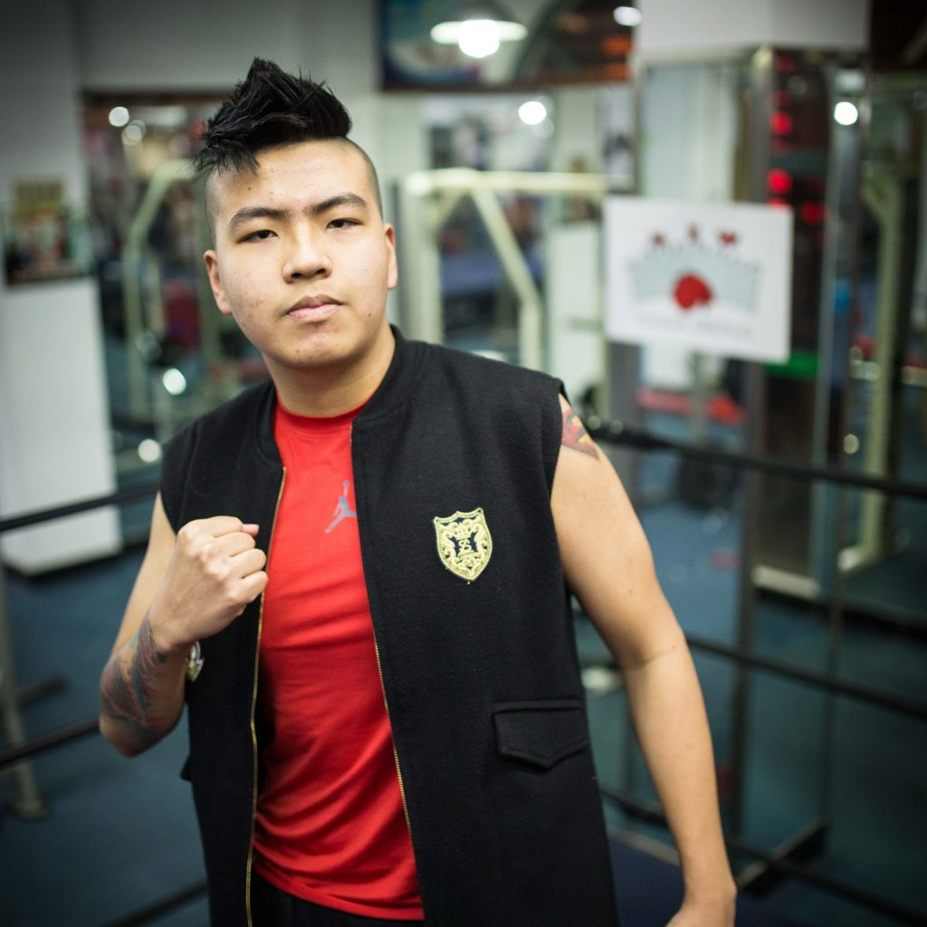 Chinese Pro Wrestler M.A.