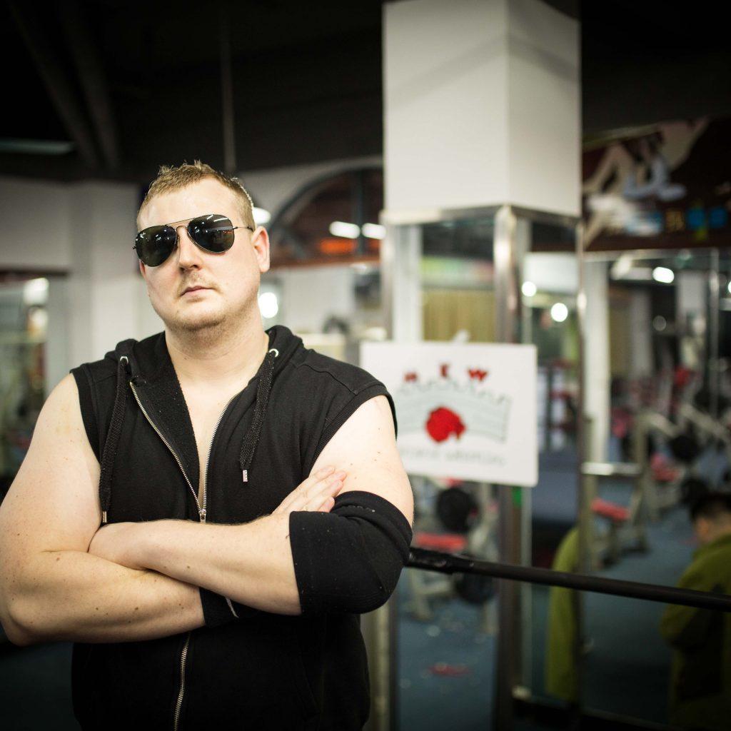 British Pro Wrestler DA LI SAM