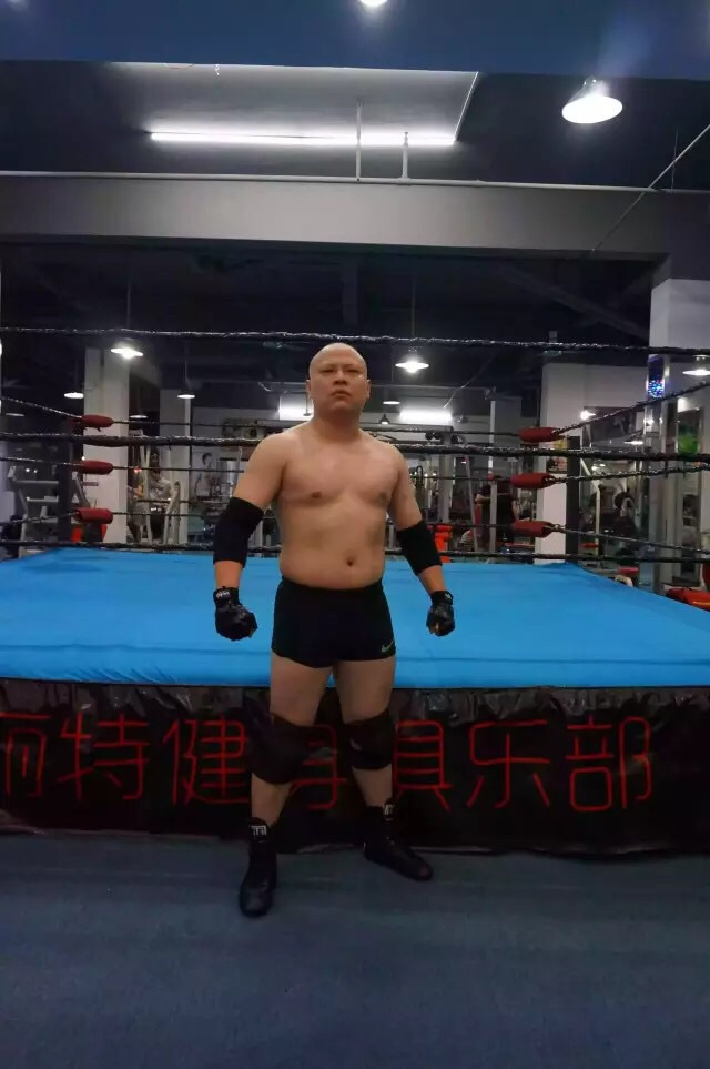 "Chinese Wrestler ""THE SLAM"""