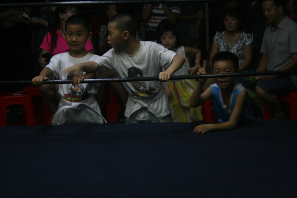 Chinese Pro Wrestling fans