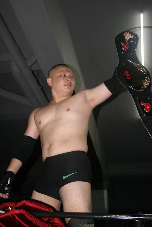The Slam is the heart of China's pro wrestling scene