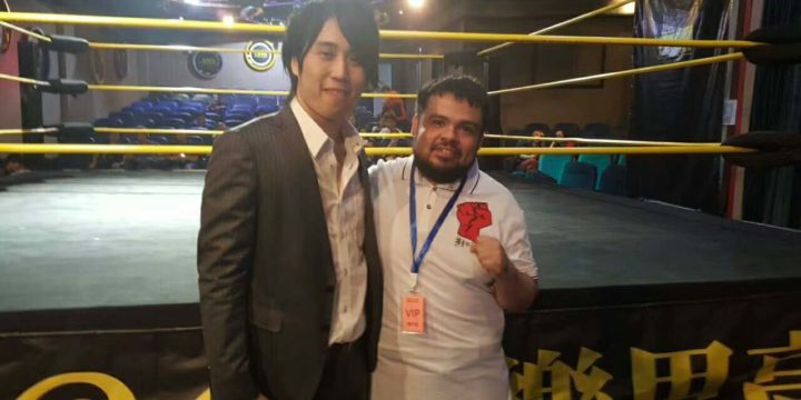 "MKW has entered a partnership with new pro wrestling company ""Macau Wrestling Arts Association""(MWA)"